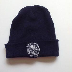 Navy Cary-Grove Trojans hat